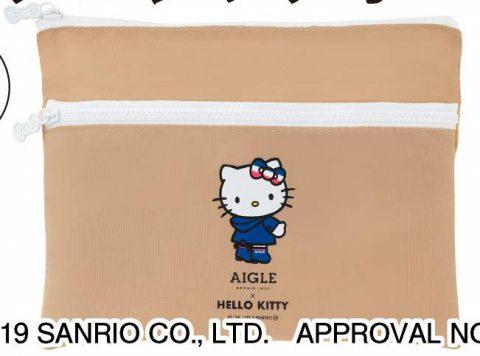 【次号予告】LEE(リー)2019年9月号《特別付録》ハローキティ×LEE×AIGLE(エーグル)リボンの引手つきダブルジップポーチ