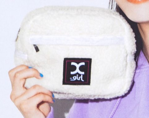 【次号予告】mini(ミニ)2020年2月号《特別付録》X-girl(エックスガール)ファスナーポケット付きもこもこポーチ
