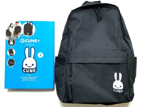 CUNE(R) (キューン)BACKPACK BOOK【購入開封レビュー】