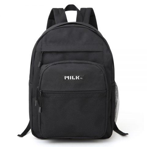 【新刊情報】mini特別編集 MILKFED. (ミルクフェド)SPECIAL BOOK Big Pocket Backpack #BLACK