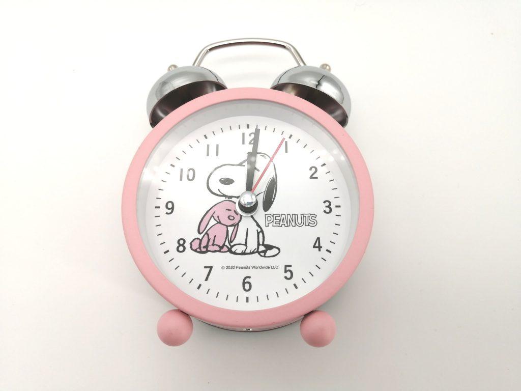 目覚まし 時計 スヌーピー