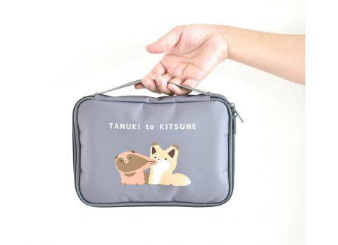 【新刊情報】タヌキとキツネ 10ポケット整理上手ポーチBOOK