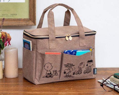 【新刊情報】SNOOPY(スヌーピー) マルチに使えるBIGピクニックバッグ BOOK peanuts friends