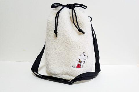 【フラゲレビュー】otona MUSE(オトナミューズ)2021年1月号《特別付録》MOOMIN(ムーミン)刺繍ワッペン付きボアポシェット
