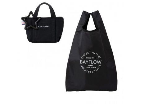 【新刊情報】BAYFLOW(ベイフロー)ECO BAG SET BOOK BLACK