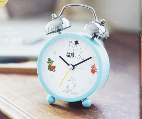 【次号予告】リンネル 2021年3月号増刊《特別付録》ムーミンの仲間たちと一緒 レトロな目覚まし時計
