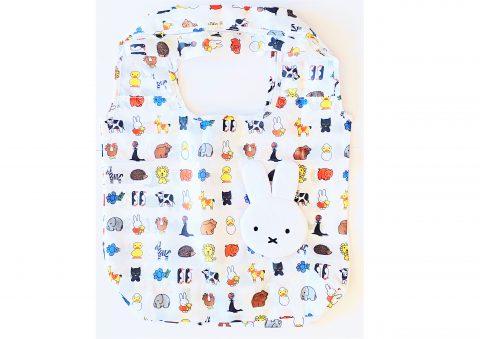 """【フラゲレビュー】リンネル 2021年4月号増刊号≪特別付録≫ miffy[ミッフィー]""""ふわふわミッフィー形""""になるエコバッグ"""