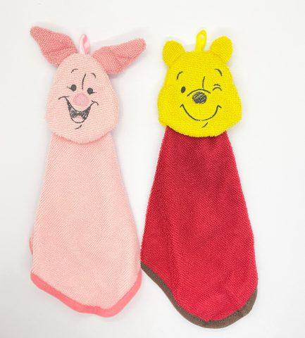 【フラゲレビュー】 Spring(スプリング) 2021年4月号増刊号≪特別付録≫ Winnie the Pooh[くまのプーさん]ループ付きで便利!マスコットタオル2個セット