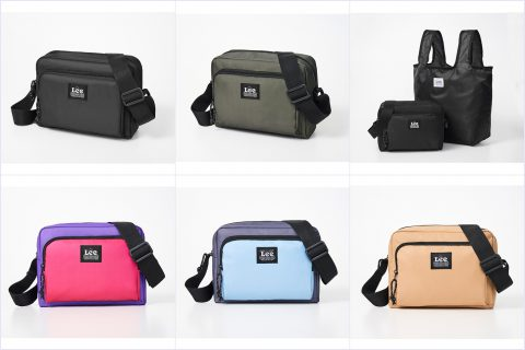 【新刊情報】Lee(リー) SHOULDER BAG SET BOOK(BLACK/BLACK・BLUE/NAVY・KHAKI/BLACK・PINK/BLACK・BLACK/NAVY・BEIGE/NAVY)