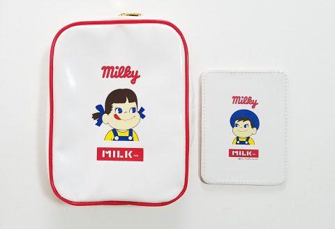 【フラゲレビュー】mini(ミニ)2021年4月号《特別付録》MILKFED.(ミルクフェド)特製 ペコちゃんじゃばらポーチ&ポコちゃんミラー