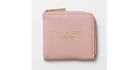 【次号予告】MORE(モア)2021年5月号《特別付録》メゾンド フルール プチ ローブ 大人ピンクなレザー調ミニ財布