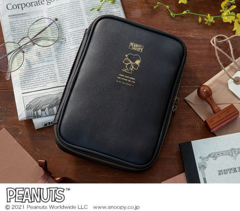 【新刊情報】SNOOPY (スヌーピー)10ポケット収納ポーチ BOOK