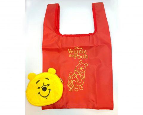 【フラゲレビュー】SPRiNG(スプリング)2021年6月号増刊号《特別付録》Winnie the Pooh (くまのプーさん) 春のお出かけにぴったり! エコバッグ&ぬいぐるみポーチ