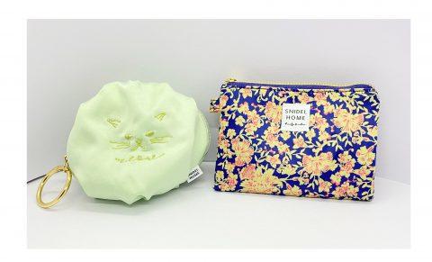 【フラゲレビュー】sweet(スウィート)2021年6月号増刊号《特別付録》SNIDEL HOME(スナイデルホーム) 多機能マルチケース& 刺繍クッションネコポーチ
