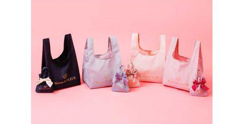 【新刊情報】Maison de FLEUR(メゾン ド フルール) MY ECO BAG BOOK NAVY/ GRAYISH BLUE/BABY PINK/PINK