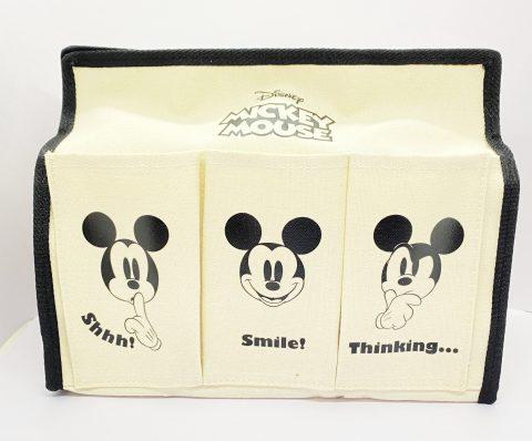 【フラゲレビュー】SPRiNG(スプリング)2021年7月号増刊号《特別付録》Mickey Mouse (ミッキーマウス)収納ケースにもなる! 6ポケット付きティッシュBOXケース