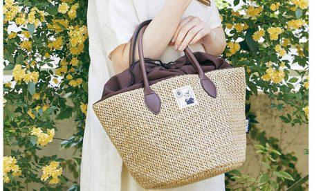 【新刊情報】MOOMIN(ムーミン) たっぷり入る! 巾着つきBIGかごバッグ BOOK NATURAL ver.