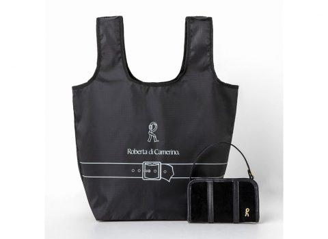 【新刊情報】ROBERTA DI CAMERINO(ロベルタ ディ カメリーノ)SHOPPING BAG & POUCH BOOK BLACK ver.