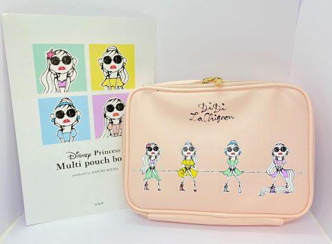 【開封レビュー】Disney Princess(ディズニープリンセス) Multi pouch book produced by DAICHI MIURA