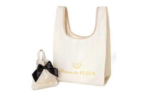 【新刊情報】Maison de FLEUR(メゾン ド フルール) MY ECO BAG BOOK IVORY