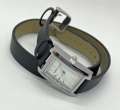 【フラゲレビュー】素敵なあの人 2021年12月号《特別付録》HARRISS GRACE (ハリス・グレース)上品シックな二重巻きベルト アクセサリー腕時計
