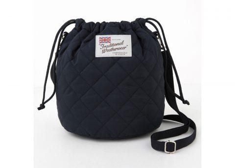 【新刊情報】Traditional Weatherwear(トラディショナル ウェザーウェア) 2021-2022 Autumn & Winter Drawstring Shoulder Bag