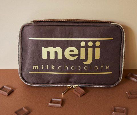 【新刊情報】明治ミルクチョコレート 95th Anniversary マルチポーチ BOOK